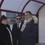 Il Sindaco ed il Vicesindaco con il sottosegretario all'Istruzione De Filippo