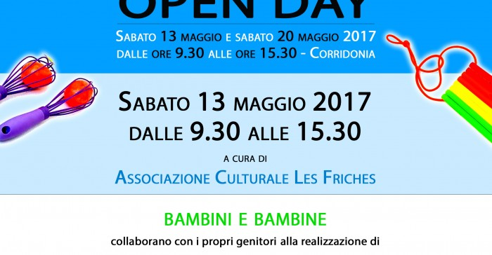 Nido divertente - Open Day